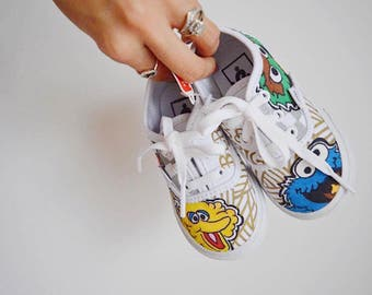 SESAME STREET - Themed Sneakers Brand New Toddler Listing!