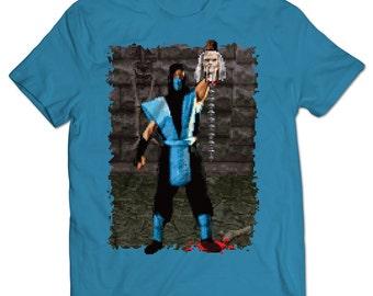 Mortal Kombat Sub-Zero Fatality T-shirt