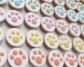 Gourmet Dog Treats - Yogurt topped Peanut Butter Cups