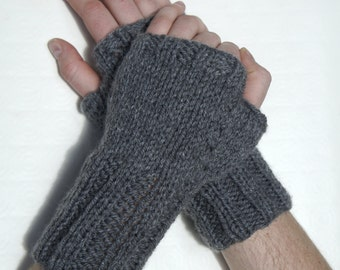 knitted wrist warmers, arm sleeves, fingerless mittens, arm warmers