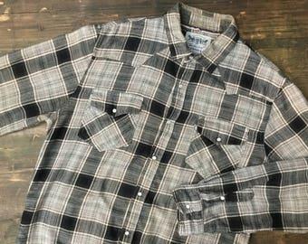 Levi Strauss Popper Flannel Shirt