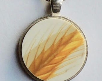 Up Cycled China Pendant