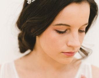 bridal headpiece, crystal headpiece, wedding headband, bridal tiara, crystal tiara, wedding tiara, crystal headband - MARISTELLA
