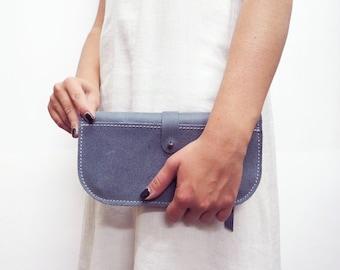 blue women wallet-leather wallet woman- leather women wallet-women wallet leather-wallet case-wallet leather woman