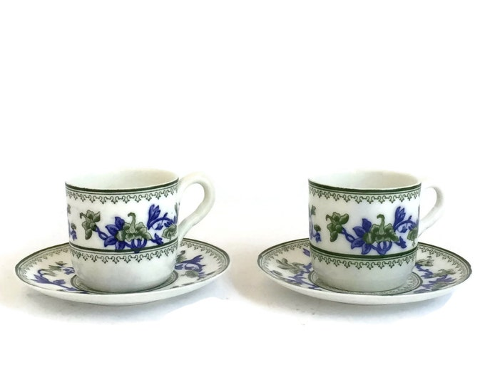 Royal Worcester Espresso/ Demi Tasse Cups c1909