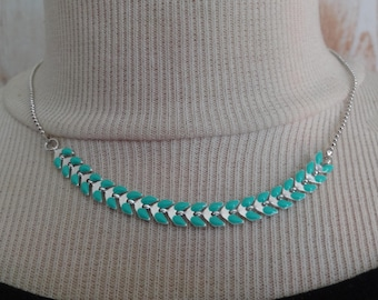 Suzie - Choker with turquoise spike