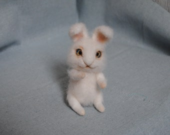 Toy of wool Bunny