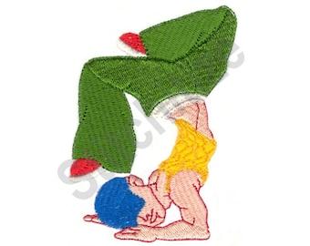 Break Dancer - Machine Embroidery Design, Dancer