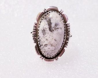 White Buffalo Ladies Ring