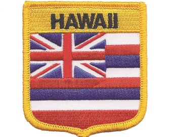 Hawaii Shield Patch (Iron on)
