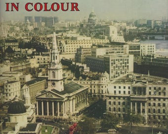 1965 PICTURE BOOK Of LONDON In Colour