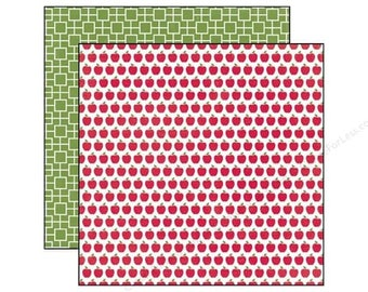 Echo Park | Through The Year Collection | 12x12 Yardstick | Apples