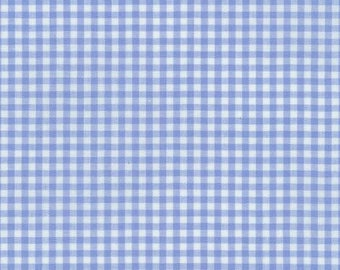 "Robert Kaufman Carolina 1/8"" Gingham P-5689-17 in Periwinkle Blue"