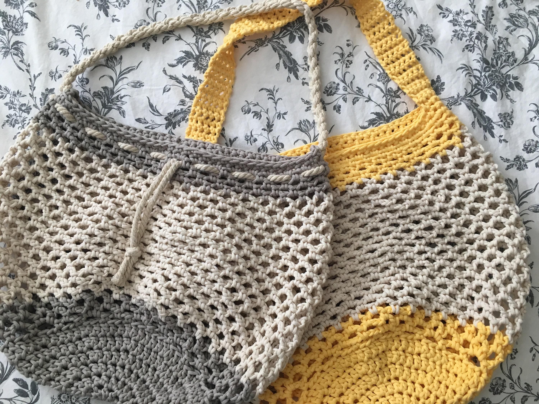 Gone to the Beach Bag PDF Pattern - Crochet Beach Bag Pattern ...
