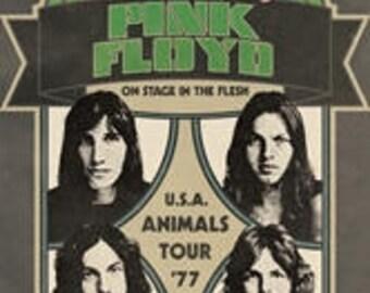Pink Floyd Animals Tour Poster