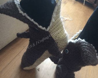 Shark slipper socks etsy baby crocheted shark slipper socks choose size dt1010fo