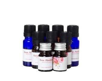 Turkish Rose Damask Absolute Oil, Rose Anatolian Flower Essence Oil, Rosa Damascena Absolute Oil, Botanical Rose Flower Precious Oil
