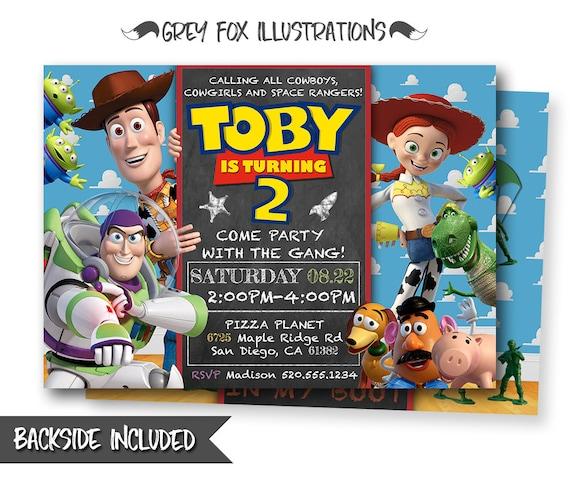 Toy Story InvitationToy Story InviteDisney Pixar Toy Story
