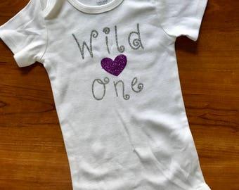 Wild One onesie/toddler shirt
