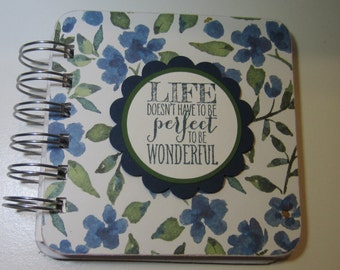 Life Flowers Password Book