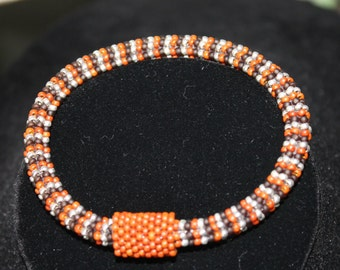 Spiffy Seed Bead Bangle