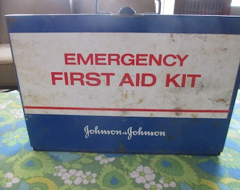 First Aid Kit, Johnson and Johnson, Emergency First Aid Kit, Medical Equipment