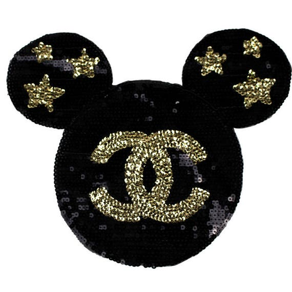 Disney Patches Sequin Minnie Mouse Patch Large Minnie Mouse Sequin Patches Applique by Etsy