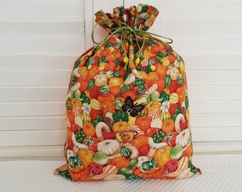 Squash and pumpkins on my pouch
