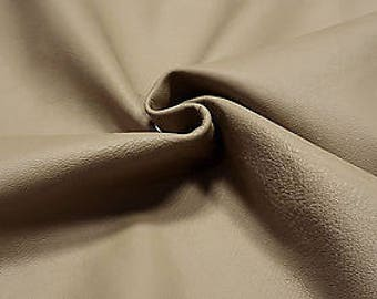Leather Cow Hide Clay Beige Automotive Upholstery Crafts Cowhides TS12454