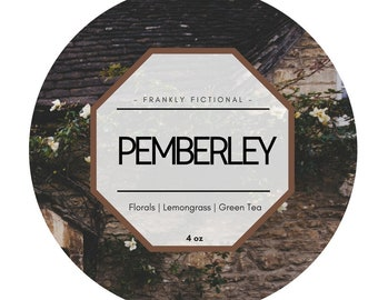 Pemberley | Pride and Prejudice Inspired Candle