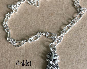 Pineapple Charm Anklet Bracelet