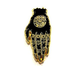 Hand of Doom pin