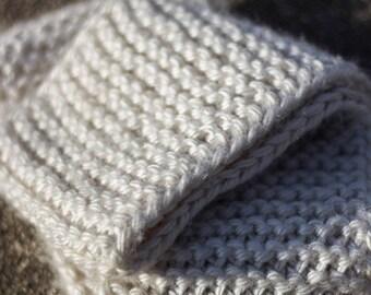 Kaylah | Chunky Knit Infinity Scarf | Garter Stitch Infinity Scarf | Scarf for Him | Scarf for Her