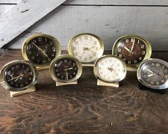 Big Ben and Baby Ben Plastic clocks
