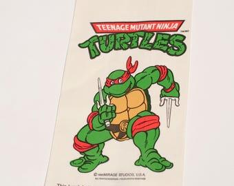 1990 TMNT Lunch Bags x13! Vintage Teenage Mutant Ninja Turtles Lunch Sack Raphael Mirage Studios 1990s