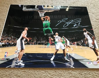 Signed Derrick Rose Photography
