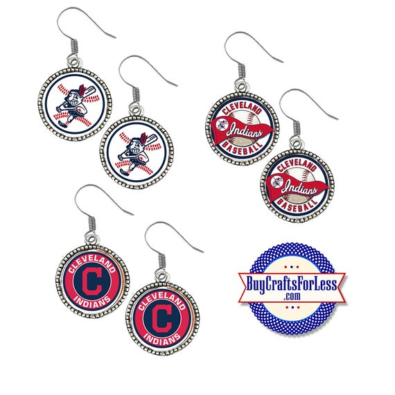 CLEVELAND Baseball EARRINGS, CHooSE Design - Super CUTE!  +FReE SHiPPiNG & Discounts*