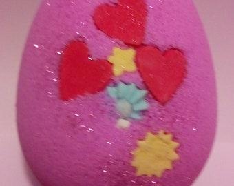 Love Spell fragranced Large Easter Egg Fizzer
