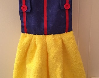 Snow White Inspired Dish Towel