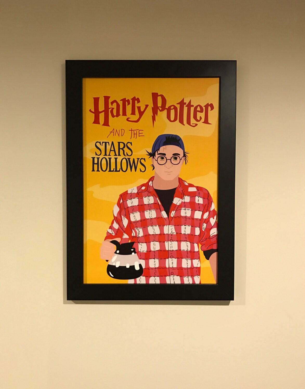 Gilmore Girls Harry Potter Mashup Art Print 12x18 Luke\'s