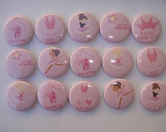 Tutu Cute Buttons Set of 15