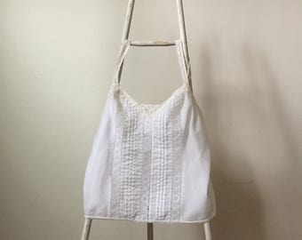 Vintage Deena Camisole in white lace