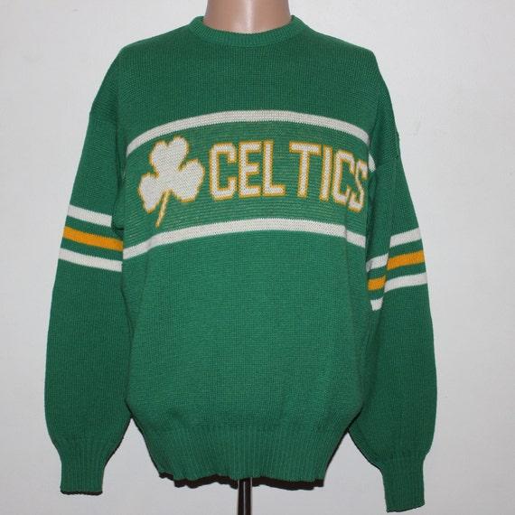 Vintage Boston Celtics Cliff Engle NBA Sweater L B8qzt
