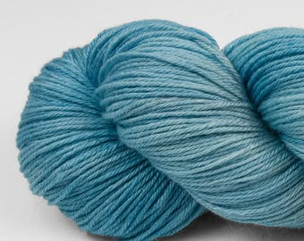 Handpainted Yarn, Merino Silk 50/50, Lambent, Fingering Wt, 100 g, Calcite Springs