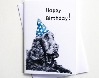 Happy Birthday from Dougal the Dog