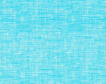 Sketch Turquoise Fabric  - 1 Yard Cut - Timeless Treasures  - Cotton Fabric - Quilting Fabric - C8224-Turquoise