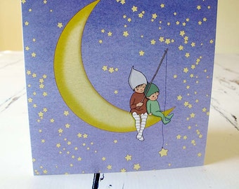 Paper Moon Card