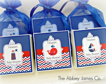 Nautical Baby Shower Favors, Nautical party favors, Nautical Shower Theme