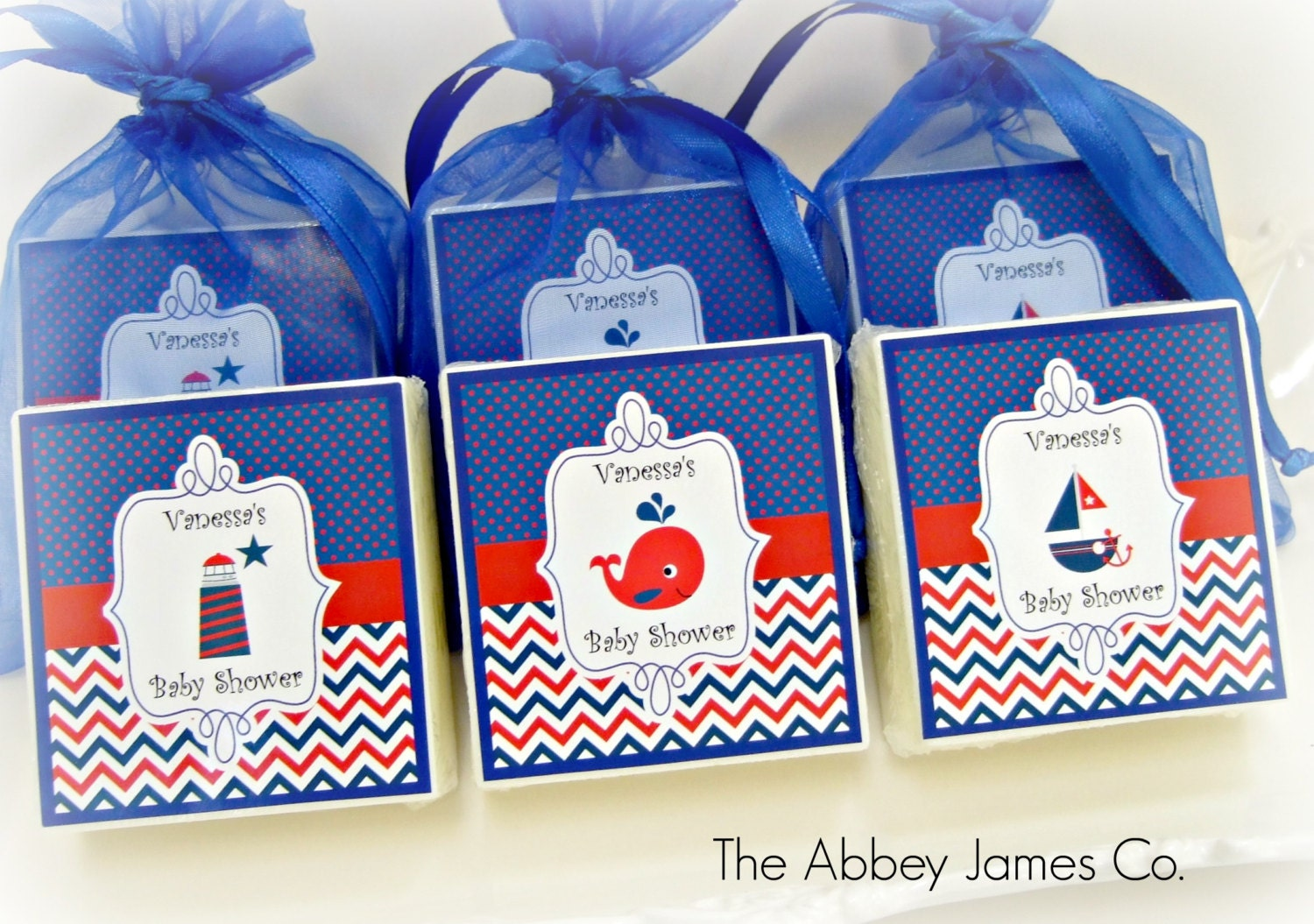 Nautical baby shower favors nautical party favors nautical zoom negle Images
