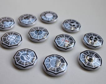 DHARMA Initiative Buttons